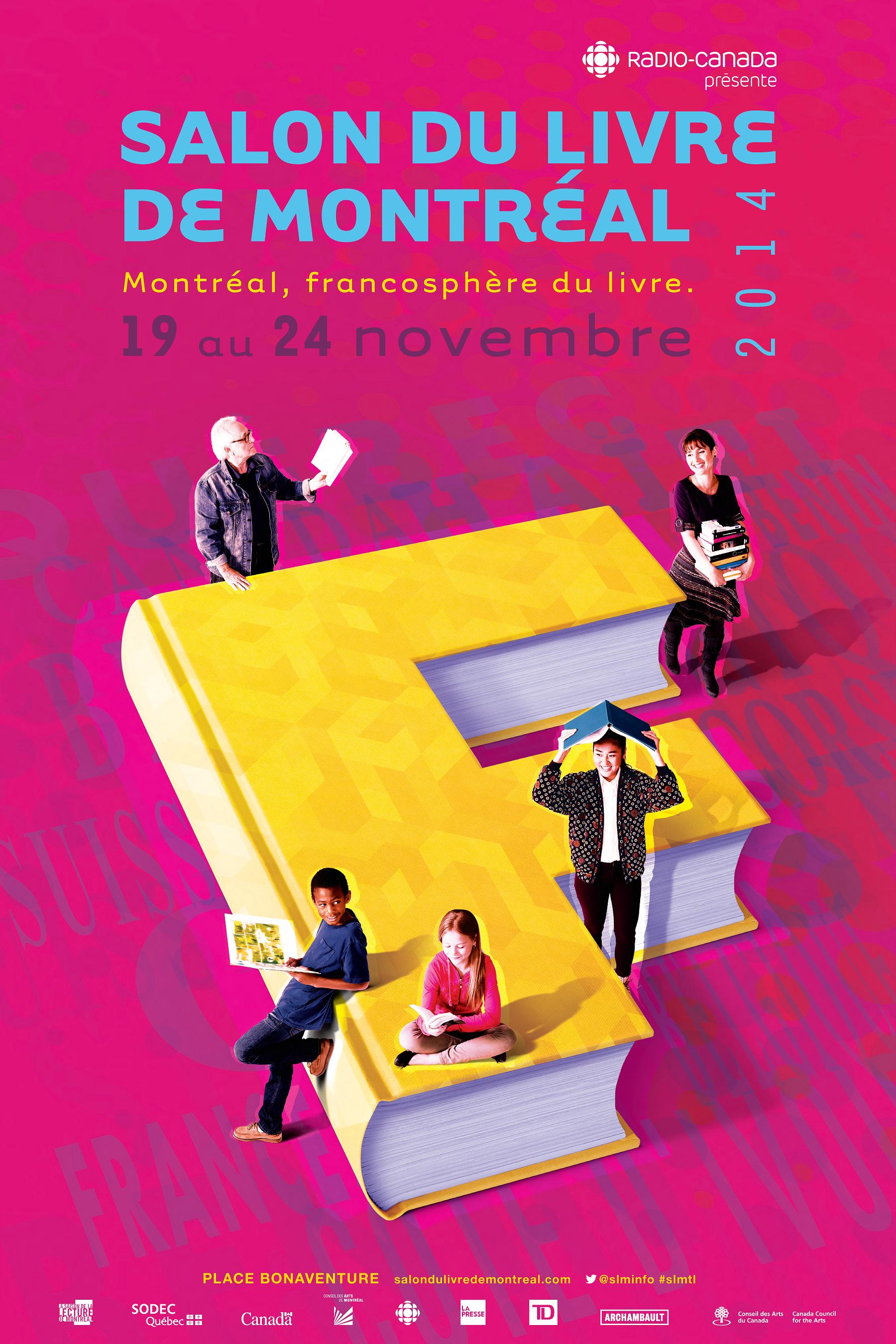Salon du livre de montr al 2014 presses de l 39 universit for Salon du livre 2017 montreuil