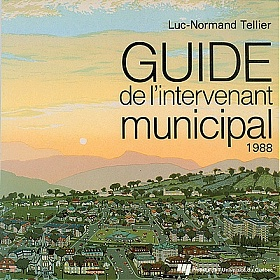 Guide de l'intervenant municipal 1988