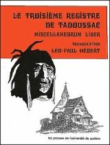 Le troisième registre de Tadoussac