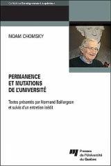 Permanence et mutations de l'université